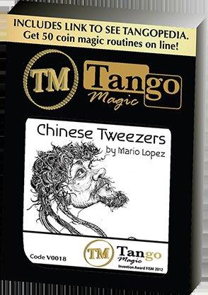 【天天魔法】【S1360】正宗原廠~古幣上的蟲洞~Chinese Tweezers by Mario Lopez