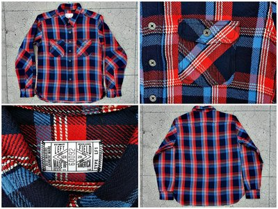 Left Field 12oz Japanese Tartan Twill Dust Bowl Work Shirt 2