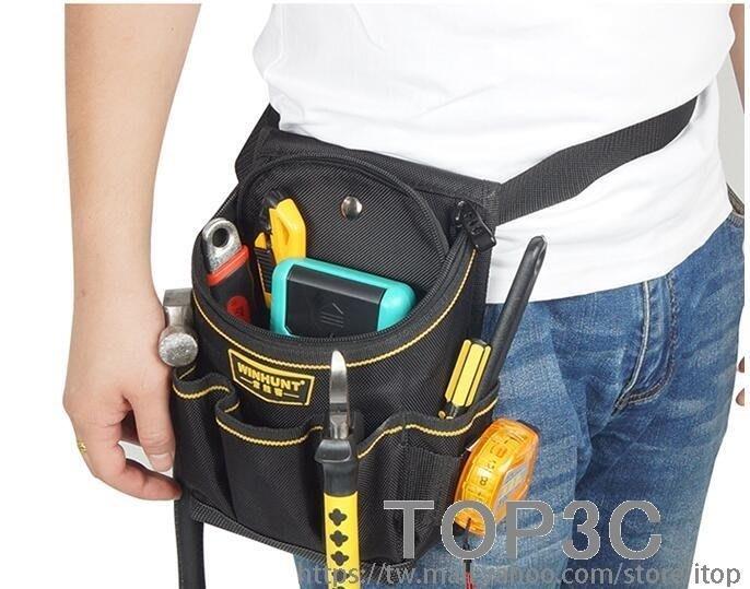 工具包腰包加厚加蓋多功能維修1680D維修電工工具包腰帶