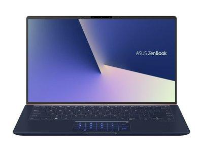 筆電分期 輕鬆月繳3333元 ASUS UX433FN 14吋 i5-8265U 512GB 藍色 全新公司貨