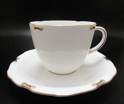 【timekeeper】 英國製Royal Crown Derby德比Regency攝政系列重金骨瓷咖啡杯+盤(免運)