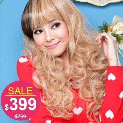 ☆雙兒網☆材質再升級新耐熱假髮【MA043】耐熱纖維-超萌日系洋娃娃捲髮型