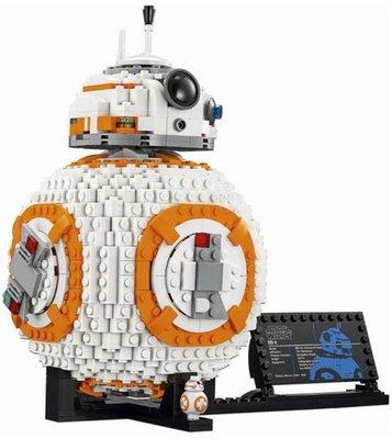 LEGO 樂高積木 STAR WARS 星際大戰 75187 BB-8