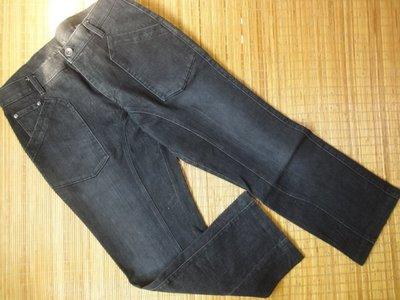 (抓抓二手服飾)  LA  NEW  彈性牛仔褲   W35