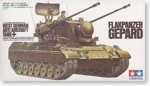 """沒貨田宮拼裝戰車模型35099 1/35 德國 """"獵豹""""雙管自行高炮"""