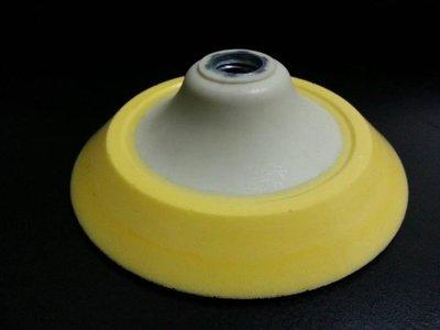 愛車美*~Rotary Backing Plate 5吋Ro機背板 魔鬼氈黏扣盤 M16牙 非LC