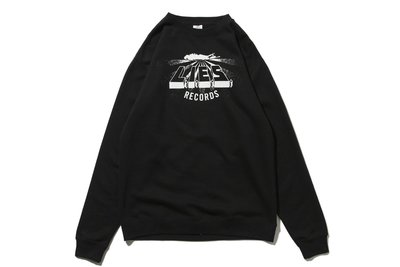 "[ LAB Taipei ] L.I.E.S. RECORDS ""WARPED LOGO CREWNECK"""