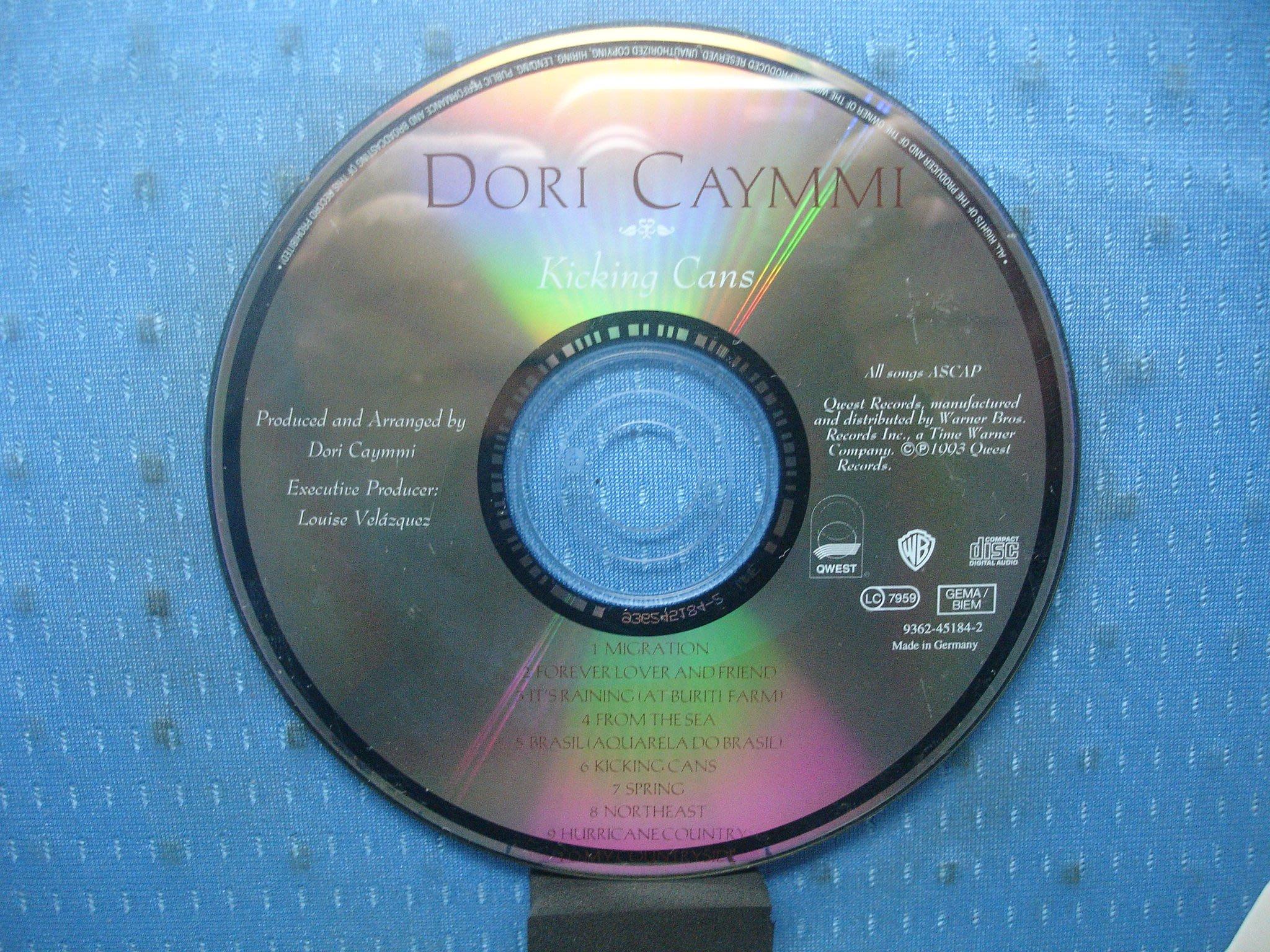 [無殼光碟]FB  Dori Caymmi  Kicking Cans  MADE IN GERMANY