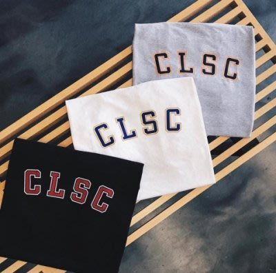 【GIANT MALL】美牌 CLSC 17'最新 TUITION TEE 黑/白/灰色 現貨