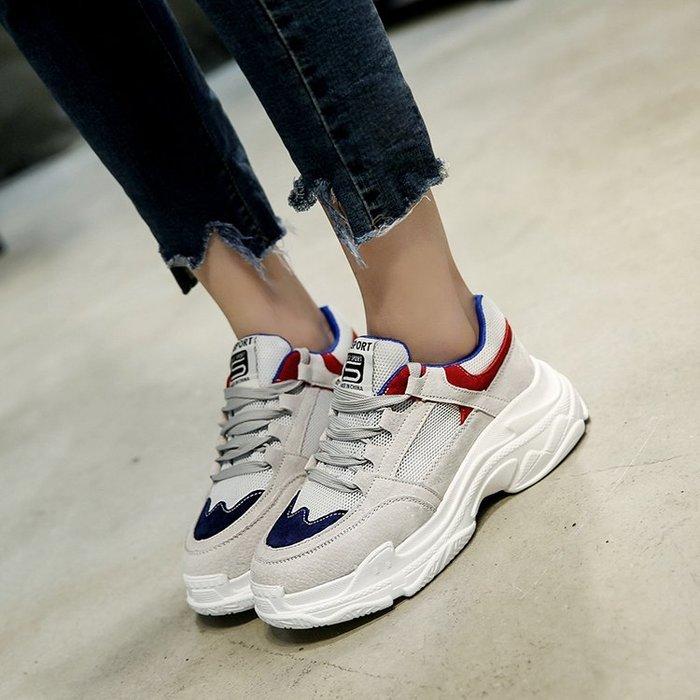 2018歐美潮流 韓版熱賣 ulzzang 慢跑鞋 增高鞋 布鞋 球鞋 休閒鞋 運動鞋 老爹鞋