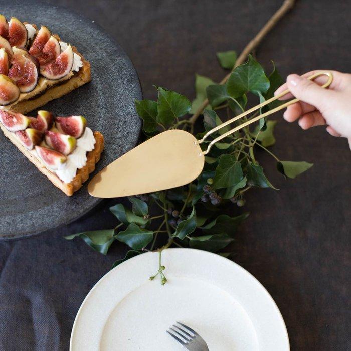 發現花園 日本選物~ 日本製 菊地流架  Lue  銅製  ~ 蛋糕鏟