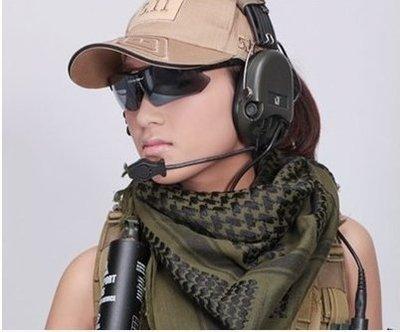 【NF188阿拉伯戰術方巾】防風薄款阿拉伯戰術方巾 圍脖 披巾 軍迷頭巾 圍巾 自行車 防風面罩