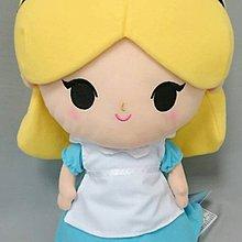 迪士尼 愛麗絲 艾莉絲 絨毛娃娃 玩偶 35公分