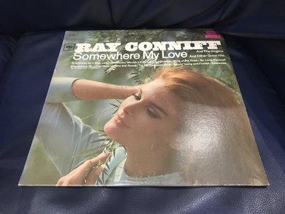 開心唱片 (RAY CONNIFF / SOMEWHERE MY LOVE) 二手 黑膠唱片 CC202
