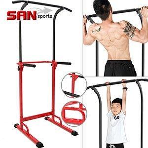 SAN SPORTS室內單槓雙槓架+伏地挺身器健腹機健腹器引體向上機拉單槓吊單槓運動健身器材B008-001【推薦+】