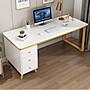 書桌 簡約現代家用台式電腦桌 北歐(輕奢ins風)書房臥室辦公桌 免運