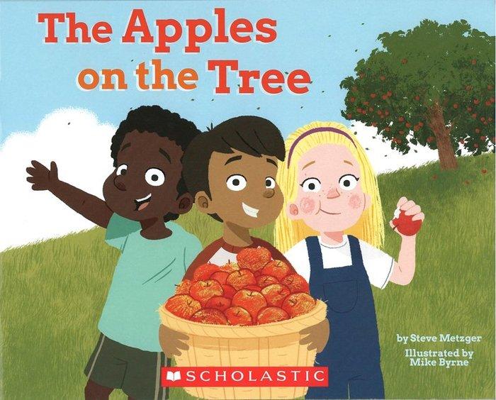 *小貝比的家*THE APPLES ON THE TREE/平裝書/4-5歲中班/天氣