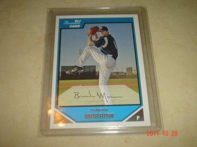 美國職棒 Dodgers Brandon Morrow 07 Bowman  Prospects RC 球員卡 新人卡