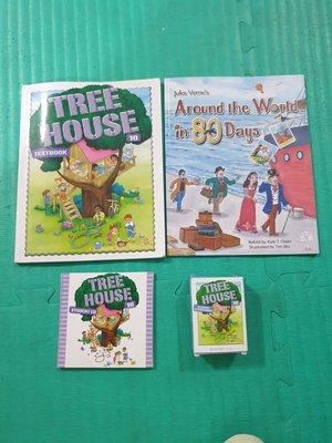 【語言學習】何嘉仁TREE HOUSE 神奇樹屋 LEVEL 10  CD及字卡 二手品 (贈書)