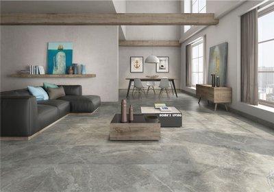 [磁磚精品HOME'S LIVING]60X120 波斯灰 天然大理石紋 亮面 石英磚 3色 商空 住宅 建築 室內裝修