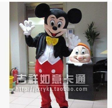 米老鼠卡通人偶服裝米奇行走玩偶服裝道具米妮卡通表演服裝人偶服