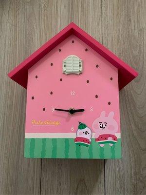 現貨 7-11 卡娜赫拉的小動物  繽紛一夏 咕咕鐘 西瓜款 掛鐘 時鐘