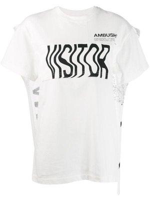 AMBUSH  圖案 斗篷 T恤 上衣