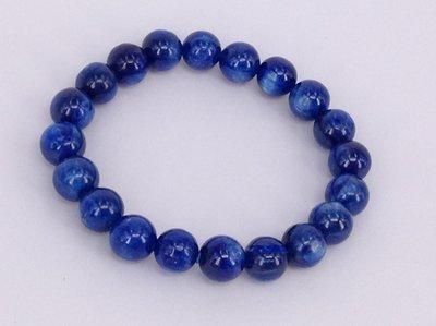 藍晶石原珠手環 (Kyanite) ~ [金璽珠寶 – Kingscher ]