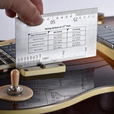 有料百貨~新款~吉他貝司曼陀鈴琴弦測量尺s2y321072交換禮物