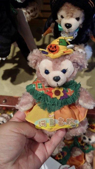 ~河馬家族~日本帶回_東京海洋迪士尼達菲熊&雪麗玫豐收款站姿娃娃分售☆現貨
