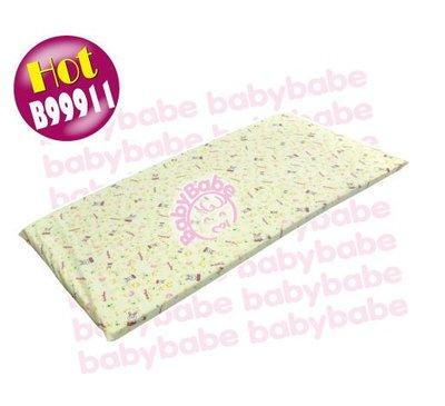 幸運兒**BabyBabe 遊戲床床墊/嬰兒床床墊高科技環保聚酯纖維床墊床墊