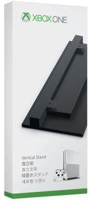XBOXONE XONE SLIM 原廠 主機直立架 底座 固定架 黑色 放置架 立架【台中恐龍電玩】