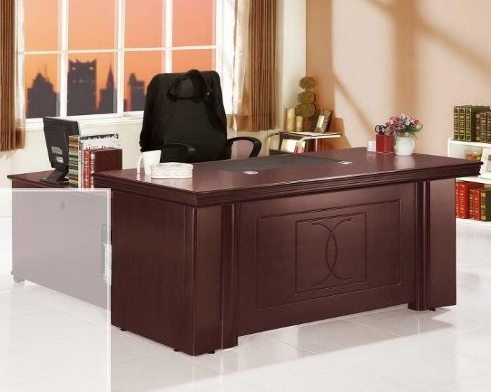 【DH】商品貨號vc843-7商品名稱《高權》5尺胡桃辦公桌 (不含活動櫃其它系列)主要地區免運費