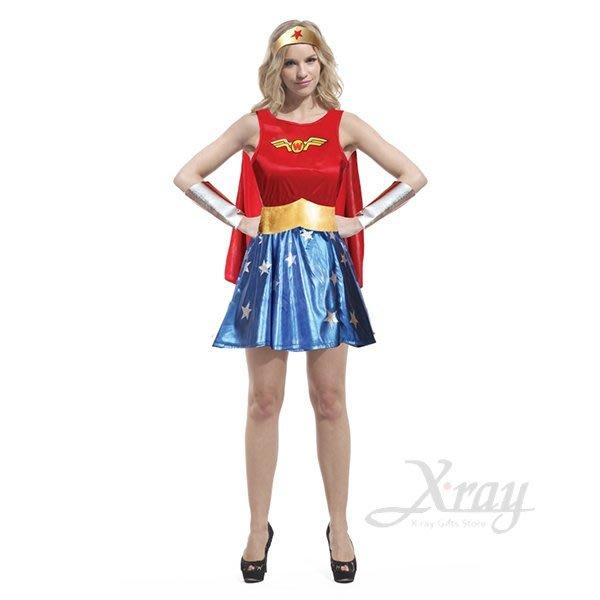 無敵女超人,萬聖節/化妝舞會/角色扮演/聖誕節/cosplay/變裝派對/尾牙表演,節慶王【W380046】