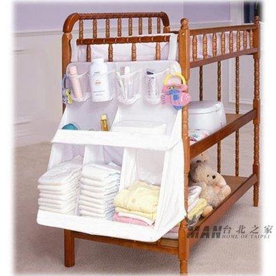 初生嬰兒床頭掛袋超大號立體掛包寶寶尿布收納袋衣物整理架子全館免運