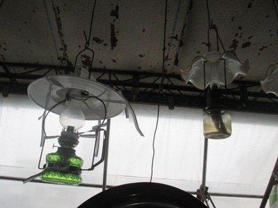 早期 古董煤油燈(歡迎留言詢問)2