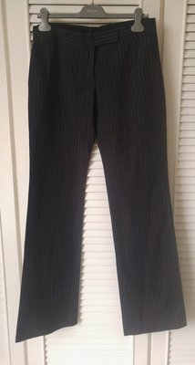 歐碼44 全新專櫃購買【Paul Smith】黑色七彩細條紋不打褶西裝褲 原價$14800