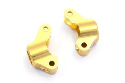 ☆大都會☆KYOSHO MBW019G Aluminum Rear Hub Carrier (Gold)