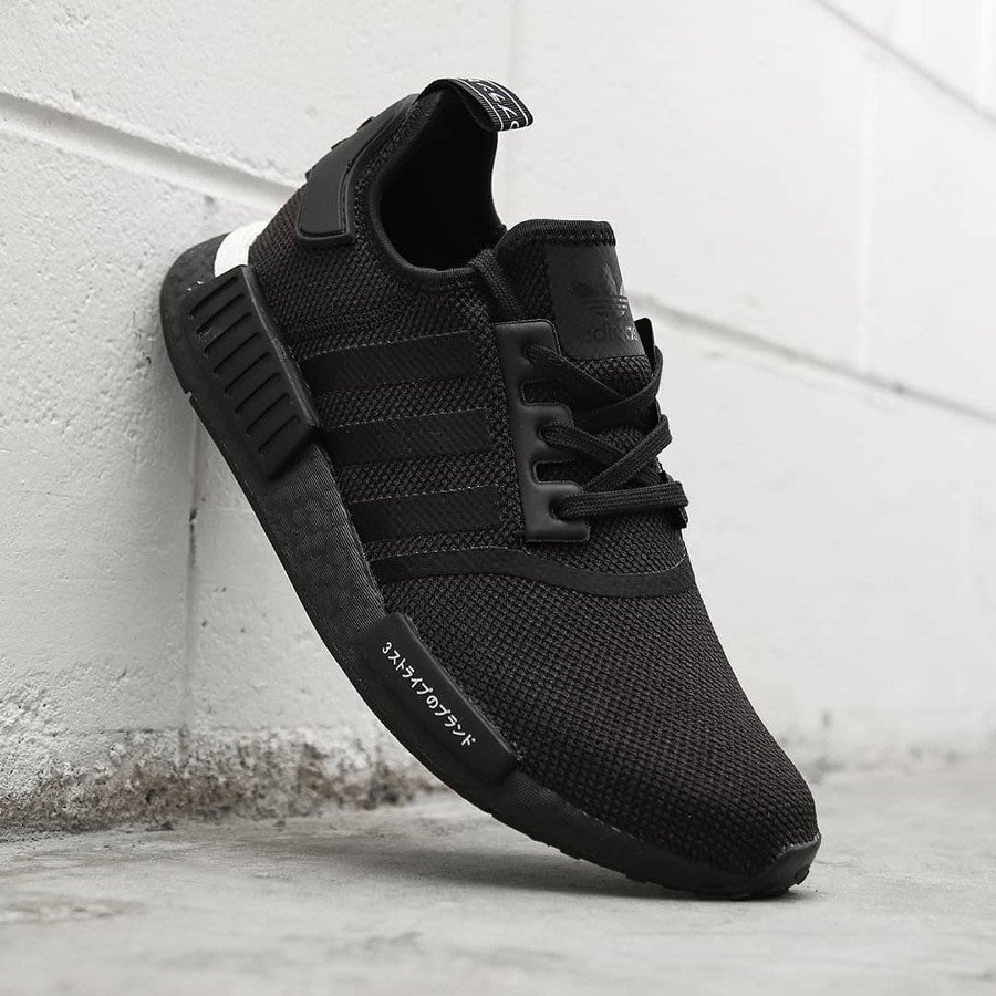 E.D.C】Adidas NMD R1 Japan Black 男女鞋