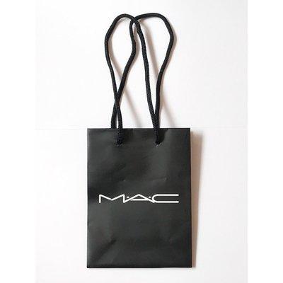 【台灣專櫃贈品】M.A.C MAC 專櫃品牌紙袋 (迷你) (10.5*5*14 cm)