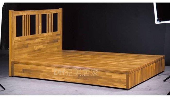 【DH】商品貨號J3商品名稱《台灣製》3.5尺雙人六分板集成木色床底(圖2)備有5尺.6尺可選台灣製可訂做