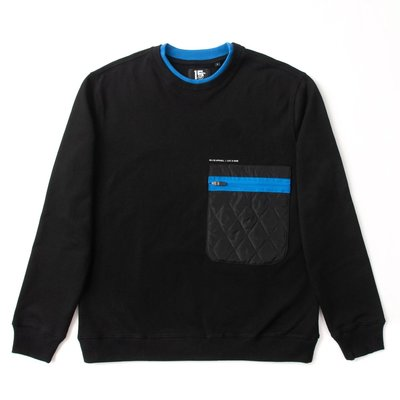 [9320]ad-lib Quilted Pocket Sweater SW120-0120