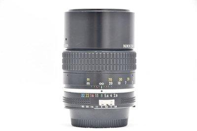 尼康 NIKON AI NIKKOR 135mm F2.8 定焦半身人像鏡頭 內製遮光罩 轉接 (三個月保固)