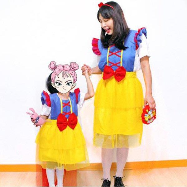 華麗交叉白雪公主 兒童圍裙【JI2345】《Jami Honey》