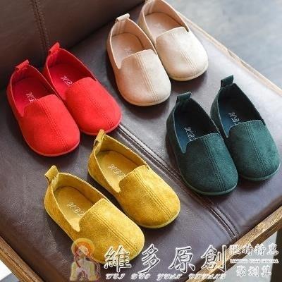 童鞋 嬰兒鞋女童鞋子新款春秋兒童鞋單鞋男童小皮鞋豆豆鞋軟底寶寶公主鞋