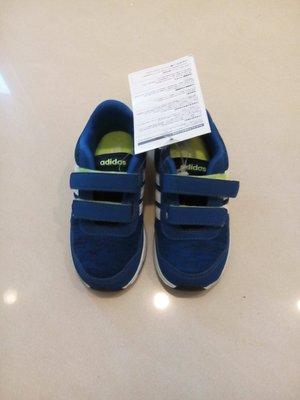 全新 Adidas 藍白球鞋 休閒鞋 小童 有吊牌
