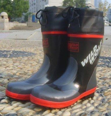 【易發生活館】外貿暢銷新品 中筒鋼包頭特種安全鞋男雨鞋雨靴 工作鞋
