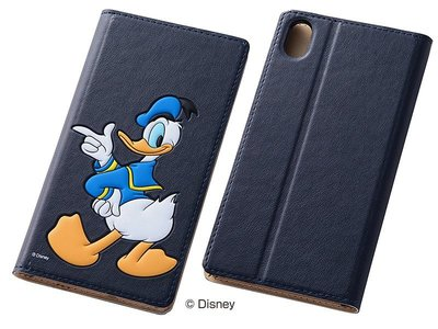 尼德斯Nydus~* 日本 Disney 迪士尼 唐老鴨 皮套 翻頁式 手機殼 Sony Z3+ Z4
