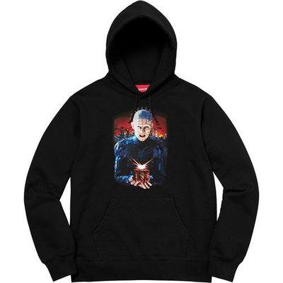 【紐約范特西】預購Supreme Hellraiser Hell on Earth Hooded Sweatshirt