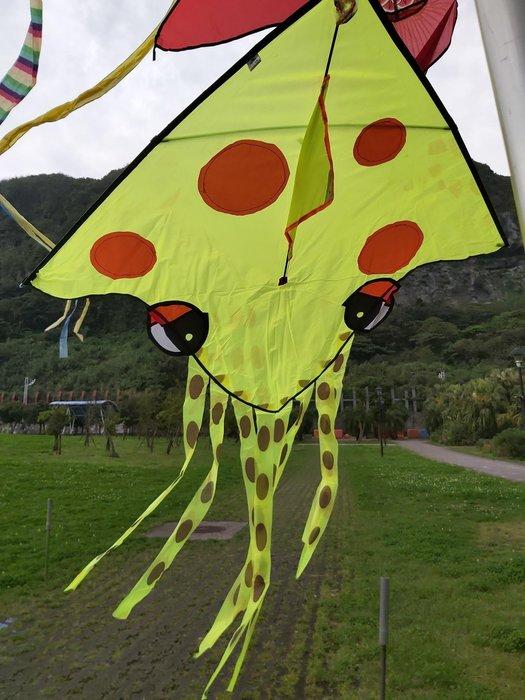 [翔飛戶外休閒] 最新最流行~小章魚.八爪魚~造型風箏-尼龍布風箏【直購下標區】
